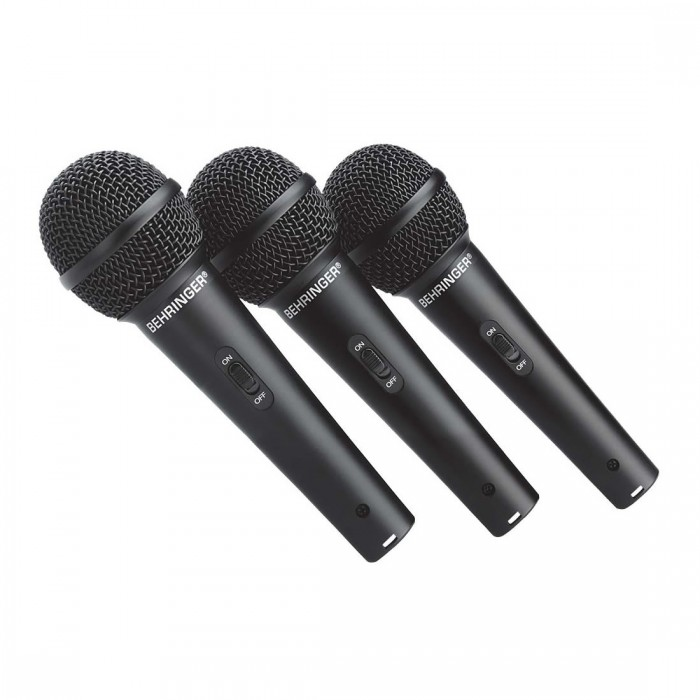Behringer XM1800S Microfone Kit 3-Peças