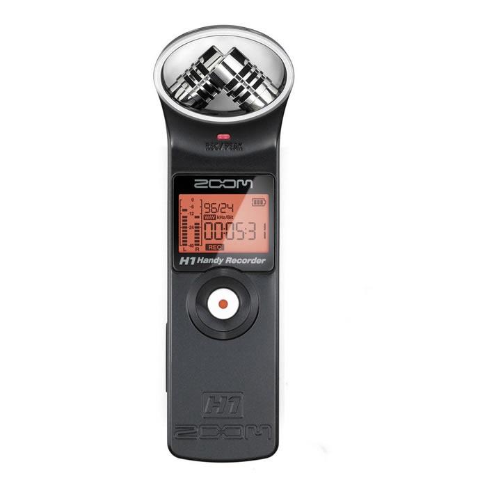Zoom H1 Gravador Digital De Audio, Voz, Cartão +2Gb