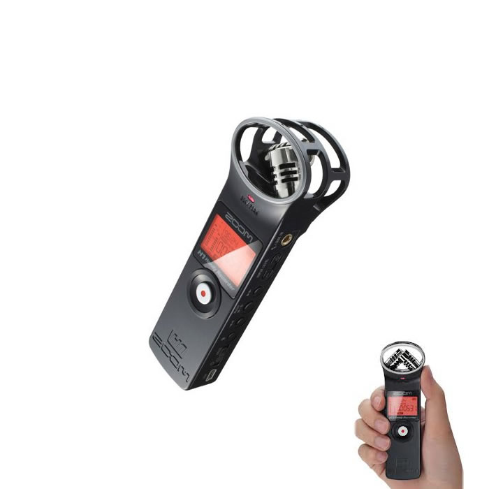 Zoom H1 Gravador Digital De Audio, Voz, Cart�o +2Gb