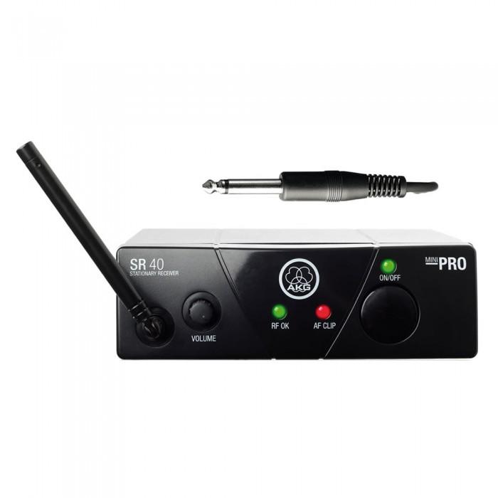 Akg WMS 40 Mini Sistema Microfone Sem Fio De Mão