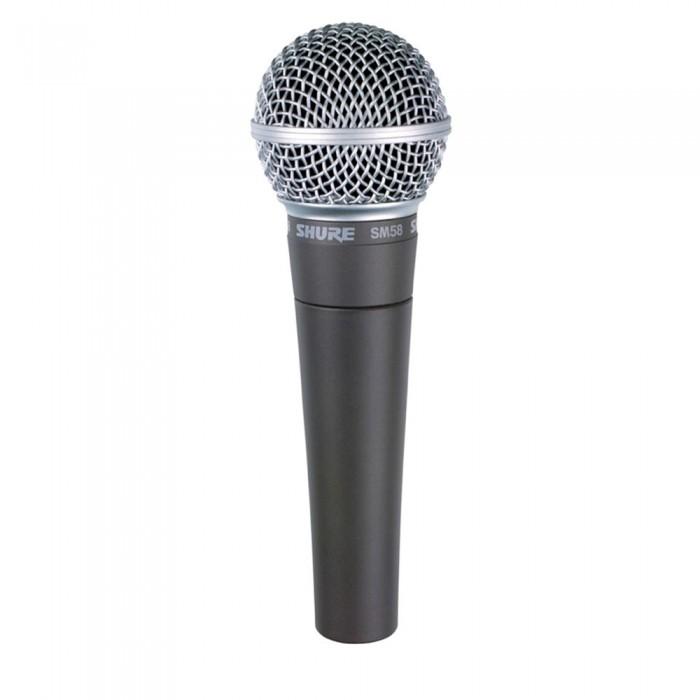 Shure SM58 LC Microfone Dinâmico Cardióide, Legendário