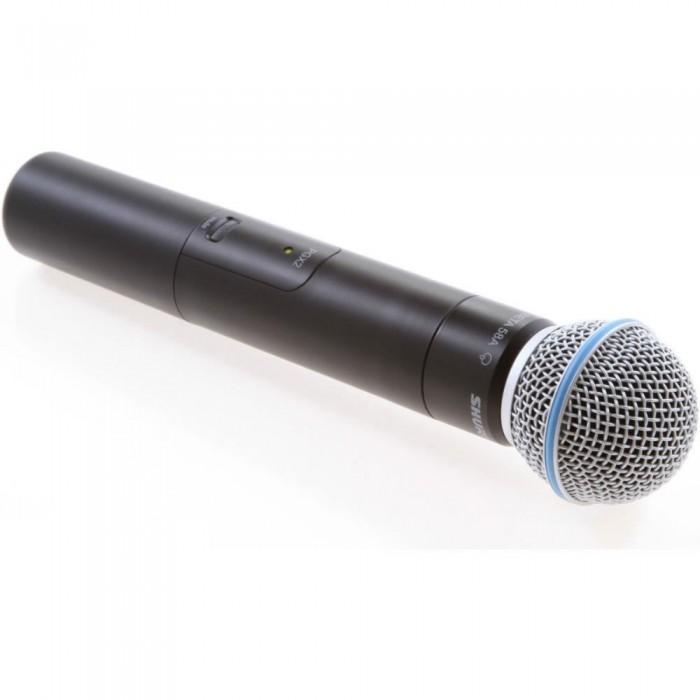 Shure PGX24/Beta58A Sistema Microfone Sem Fio De Mão