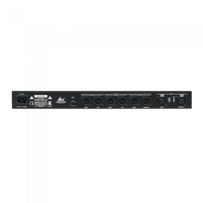 DBX Drive Rack PA+ Crossover Digital, Bivolt