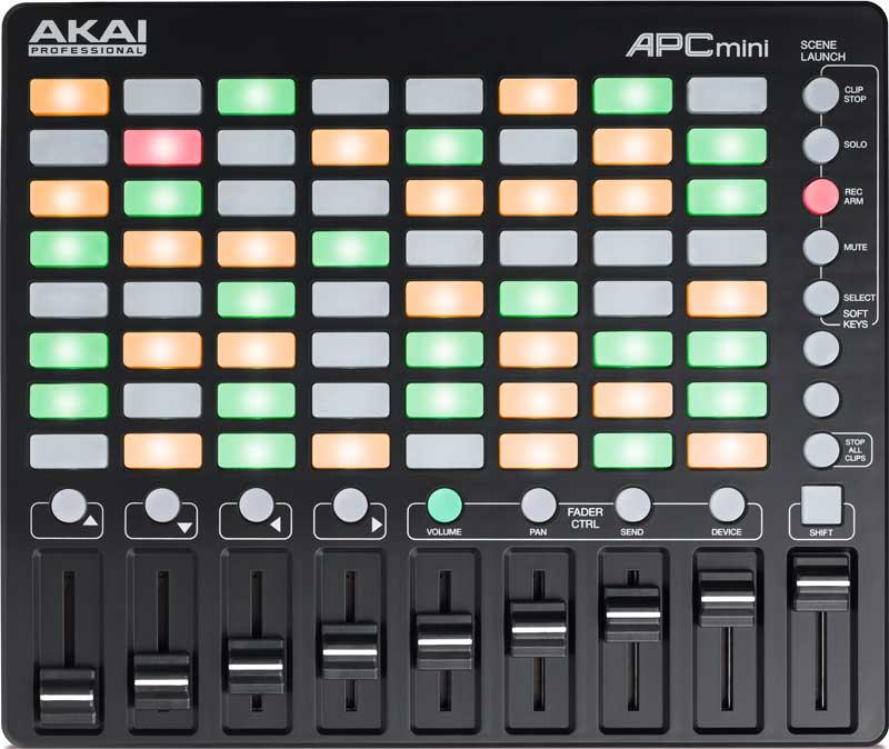 Akai APC Mini controladora Midi