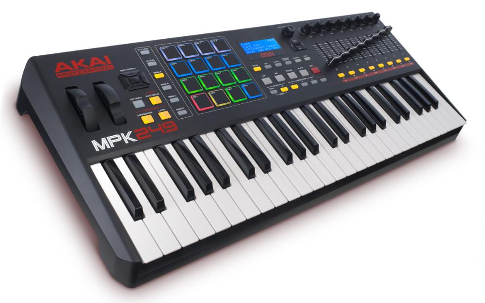 Akai MPK 249 Controladora Teclado Midi, Usb