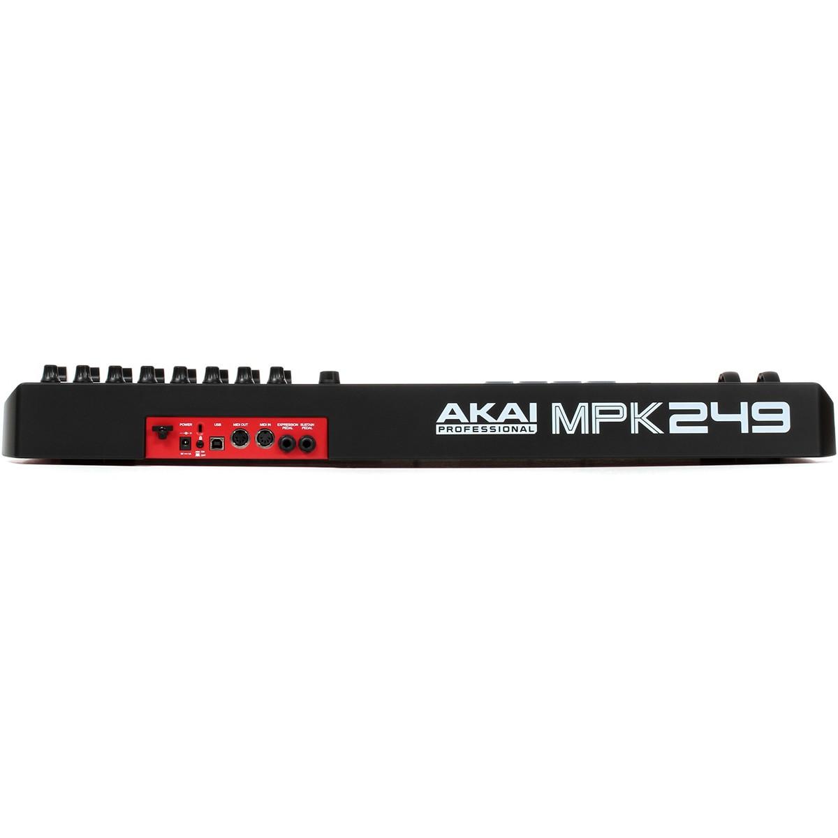 Akai MPK249 Controladora Teclado Midi, Usb, Bivolt