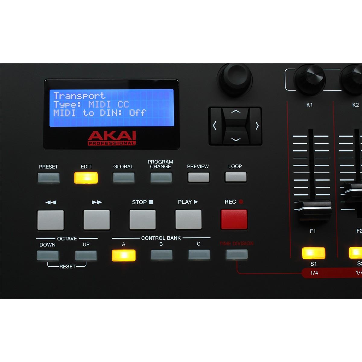 Akai MPK 261 Controladora Teclado Midi, Usb