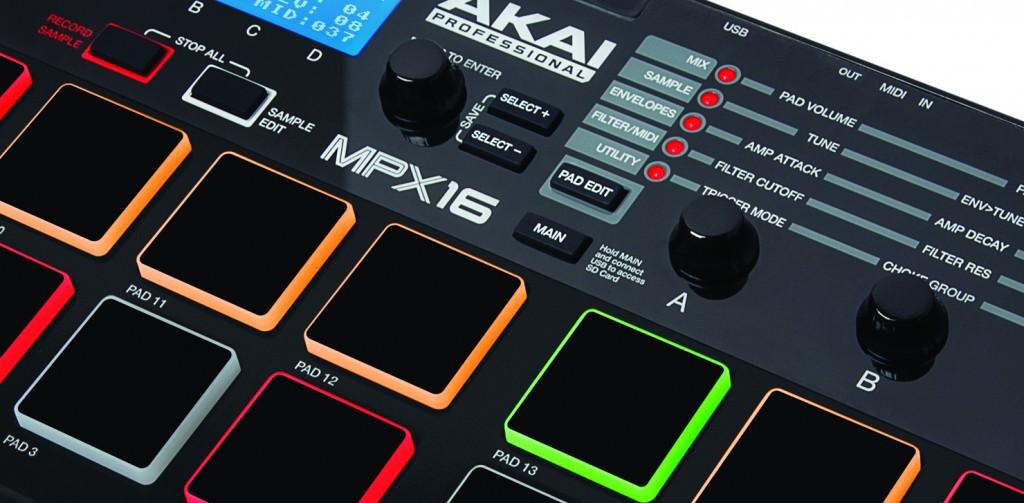 Akai MPX16 Controladora de Sampler Portatil MIDI