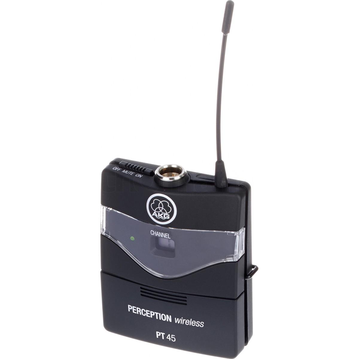 Akg Instrumental Set Sistema Microfone Sem Fio Para Instrumentos, Bivolt