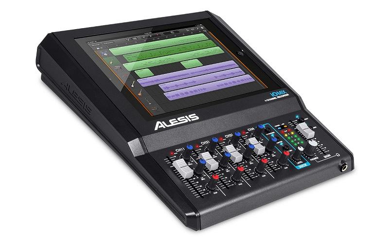 Alesis Iomix Interface, Mixer, 4 Canais Para iPad