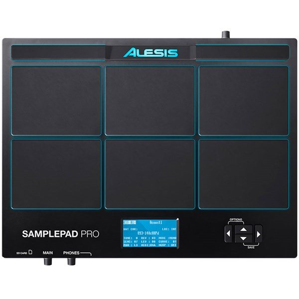 Alesis SamplePad Pro, 8 Pads Percussão Midi