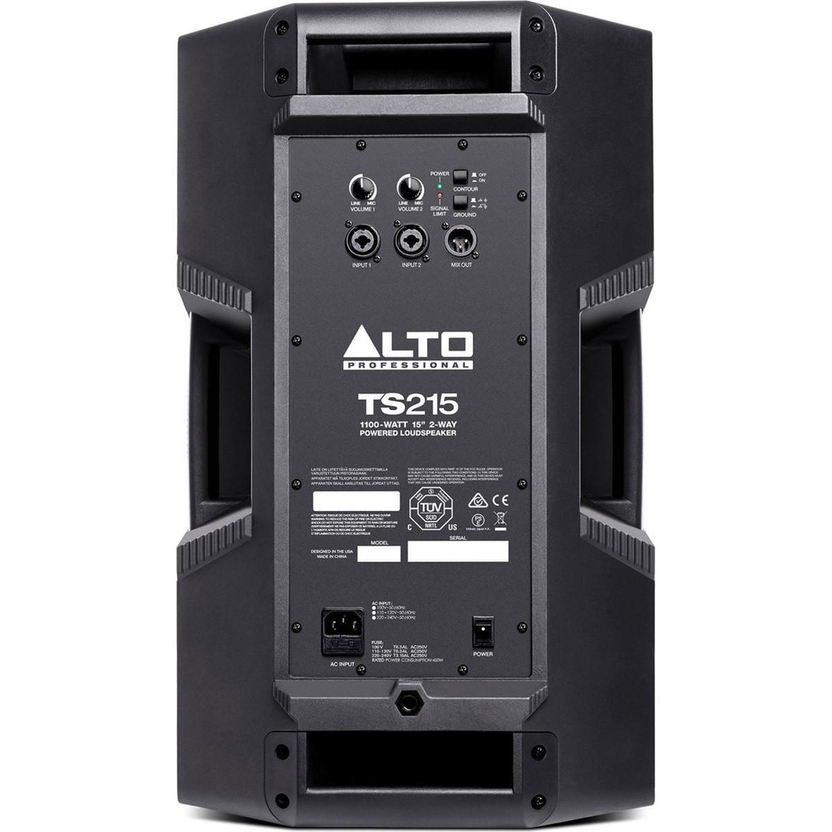 Alto TS215 Caixa Acústica Ativa, 1100 Watts Pico, 15 Polegadas, 110v