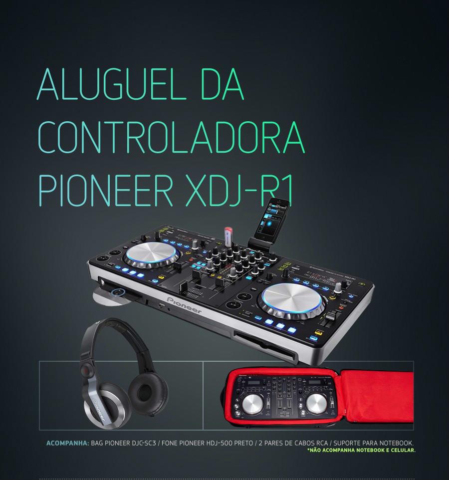 Pioneer XDJ-R1 Aluguel de Loca��o