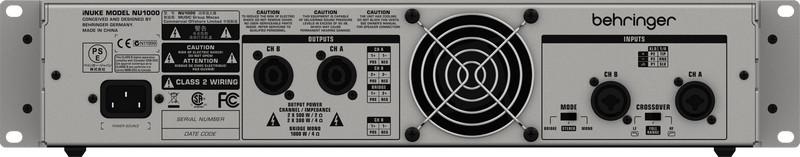 Behringer iNuke NU1000 Amplificador, 110v