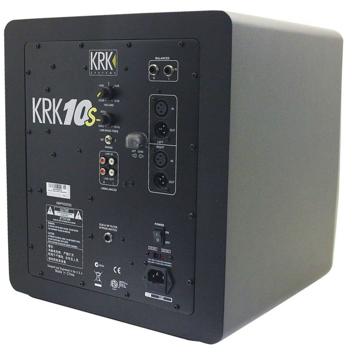 Krk RP 10S 150W Subwoofer Ativo