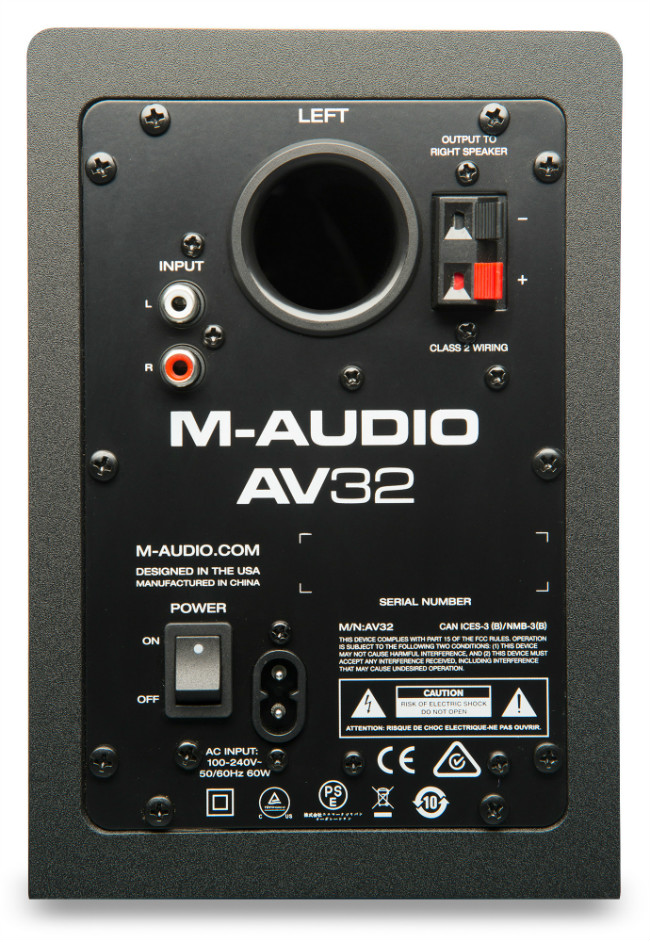 M-Audio AV 42 Monitor Acustico de Referencia 20W