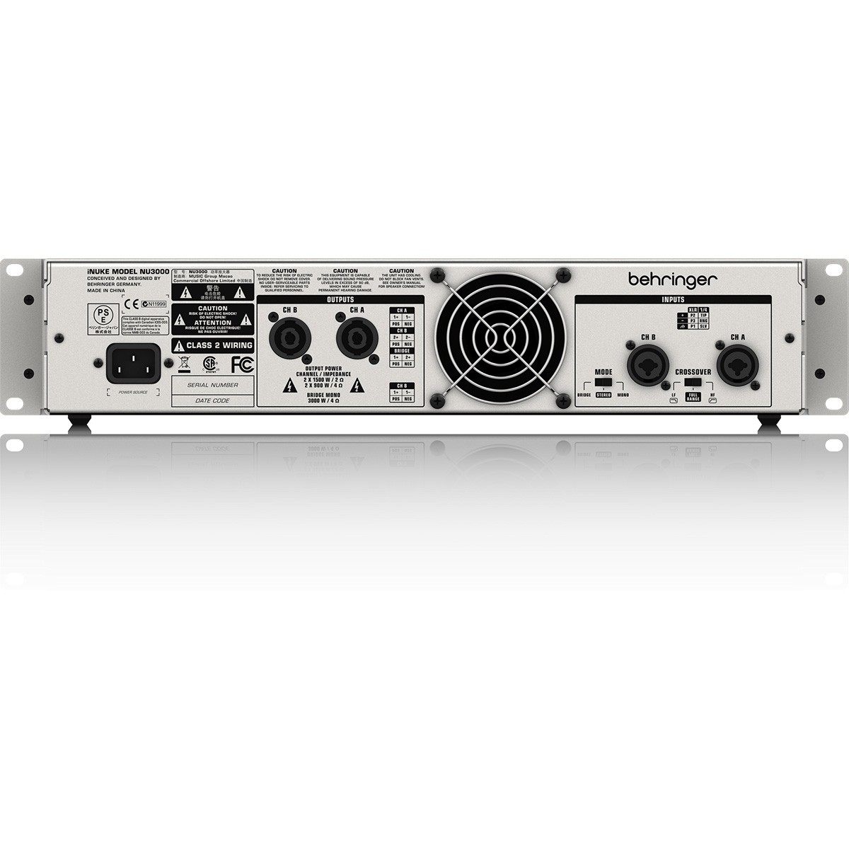 Behringer iNuke NU3000 Amplificador, 110v