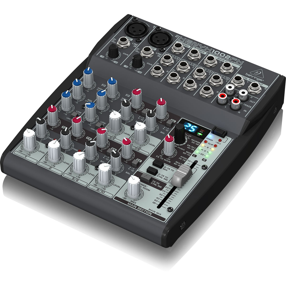 Behringer Xenyx 1002Fx Mesa Mixer 10 Canais, 110v