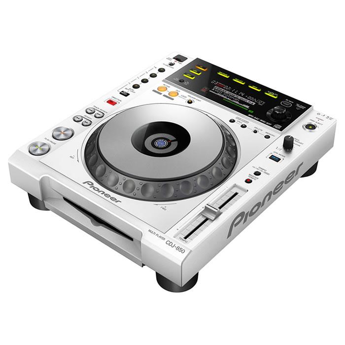 Pioneer CDJ-850, Rekordbox, Branco