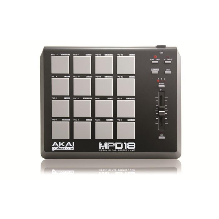 Akai MPD18 Pad Controladora Midi Usb