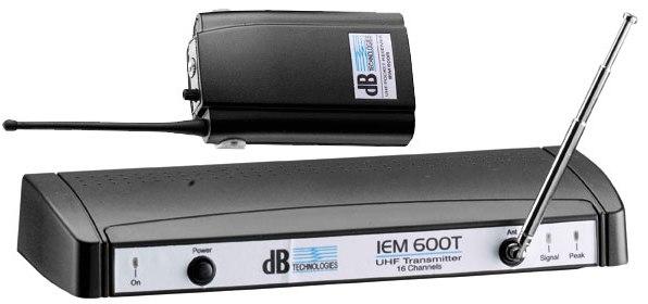 DB Technologies IEM 600 Sistema de Monitoramento