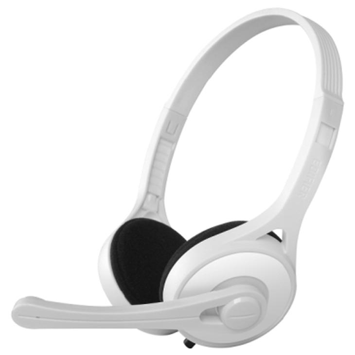 Edifier K550 Fone com Microfone, Headset, Branco