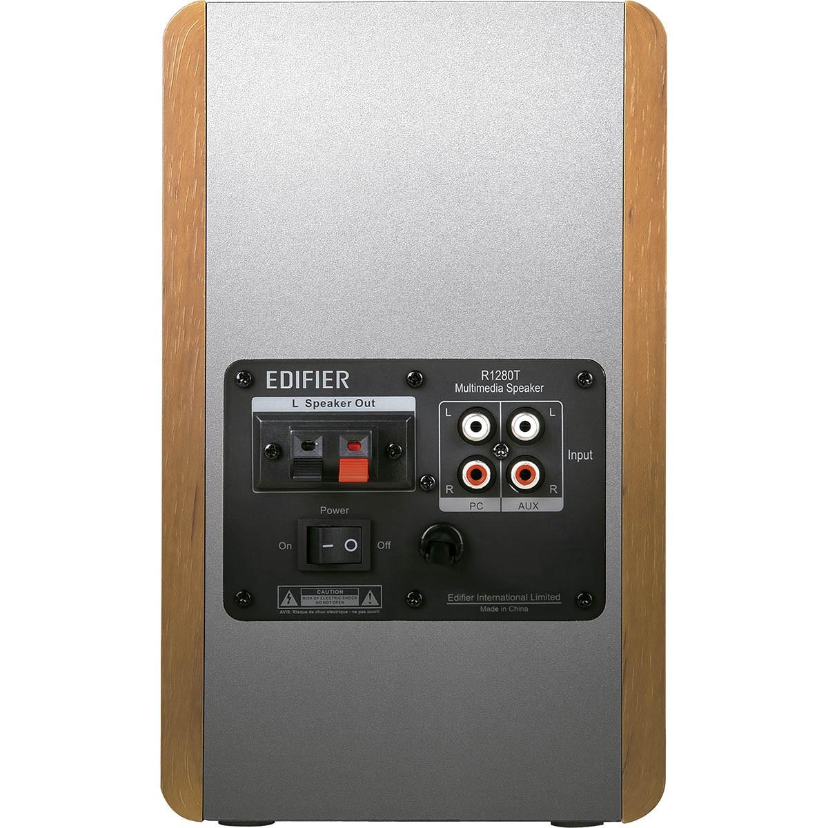 Edifier R1280T Caixa de Som, 42W RMS, Bivolt