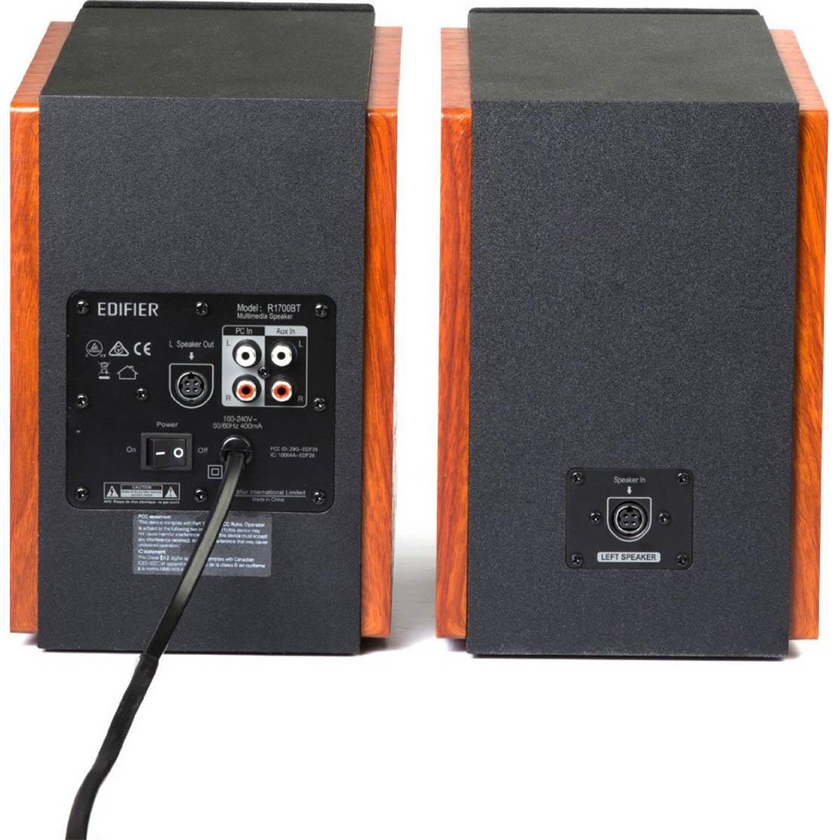 Edifier R1700BT Caixa de Som, 66W RMS, Bivolt