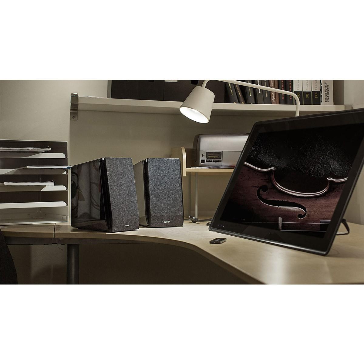 Edifier R1800BT Caixa de Som, 70W RMS, Bivolt