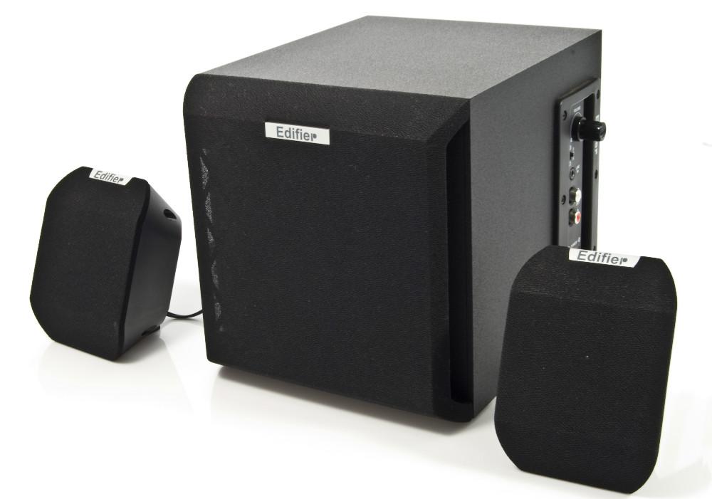 Edifier  X100B Sistema 2.1, 15W RMS, Bivolt