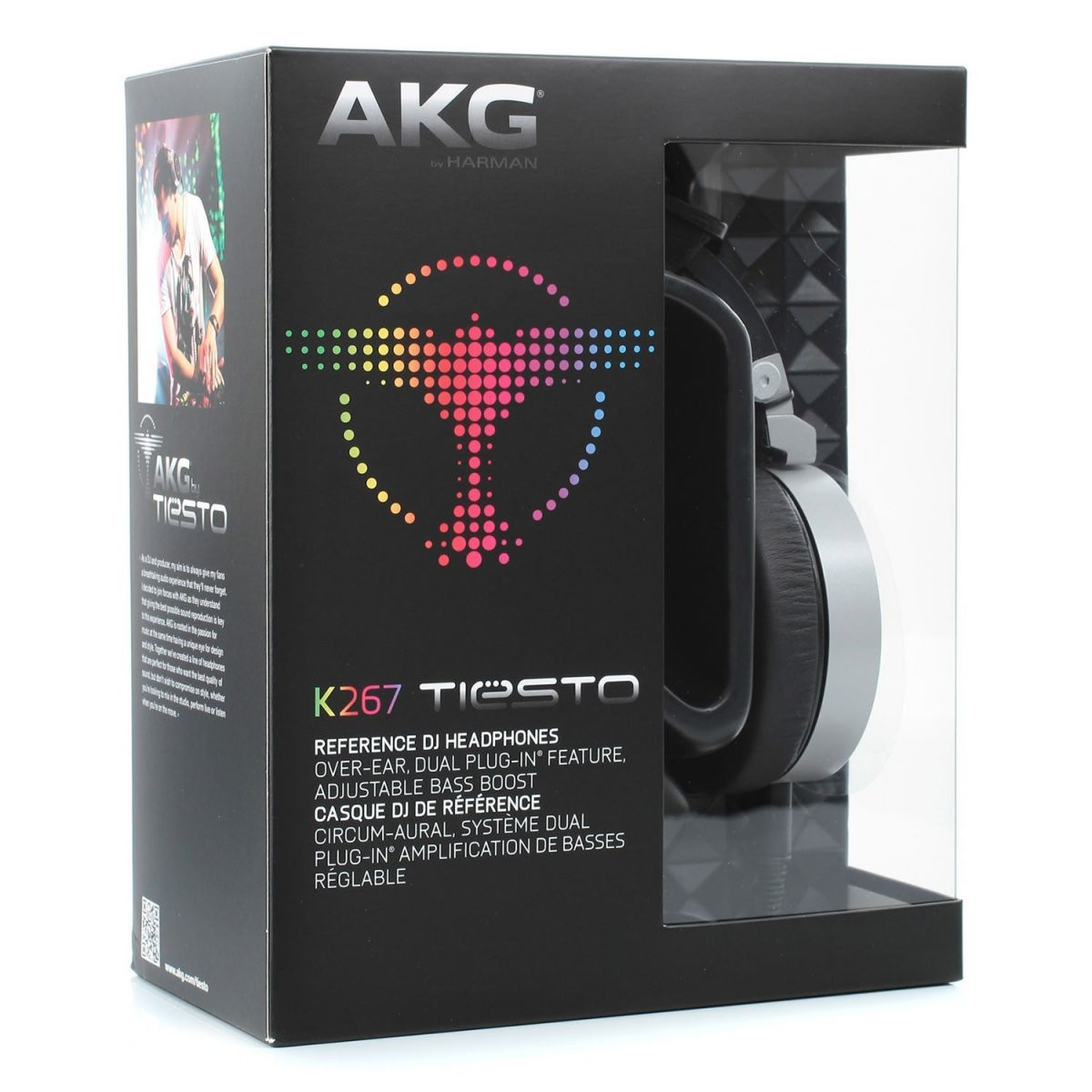 Akg K-267 Tiesto Fone de Ouvido