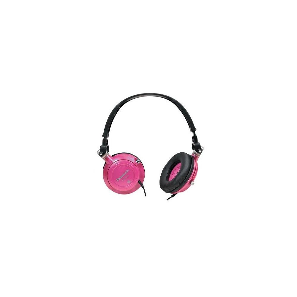 Panasonic RP-DJS400-EP Fone de Ouvido, Rosa