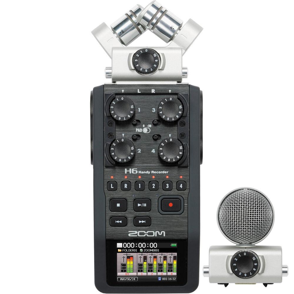 Zoom H6 Gravador Digital De Audio Voz
