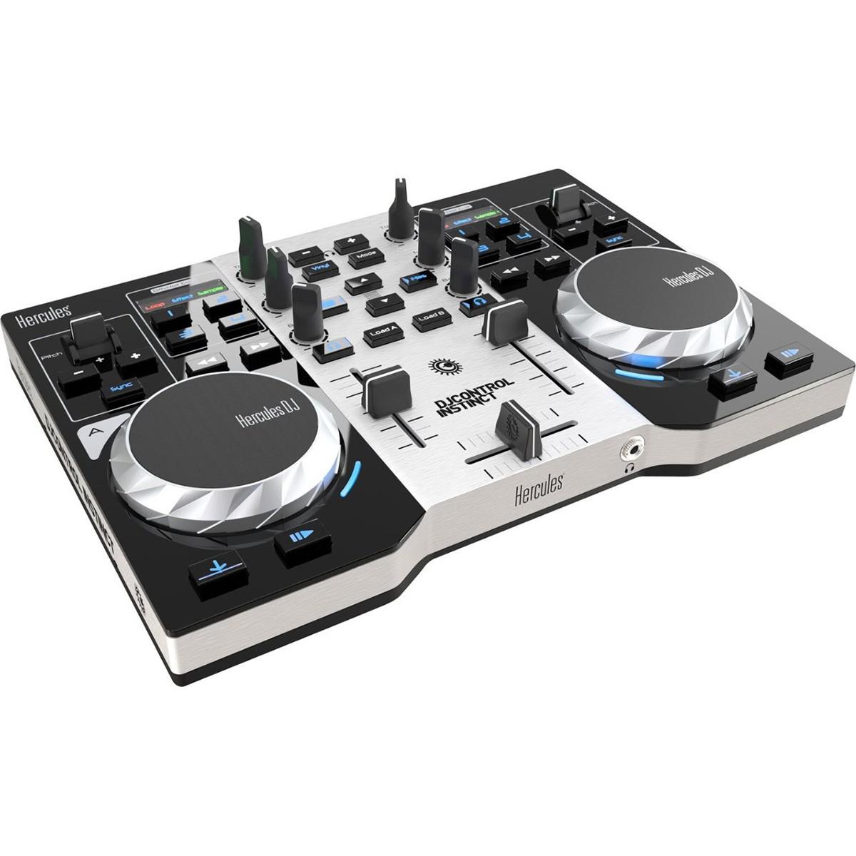 Hercules DJ Control Instinct Serie S Controladora Dj