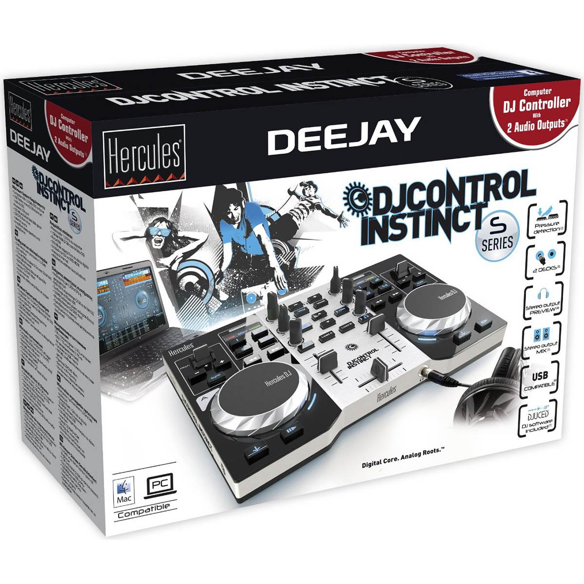 Hercules Control Instinct Serie S Controladora Dj