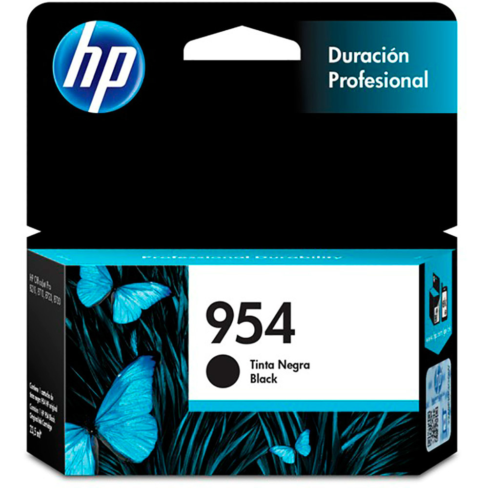 HP L0S59AB 954 Preto, Cartucho de Tinta OfficeJet, 23,5 Ml