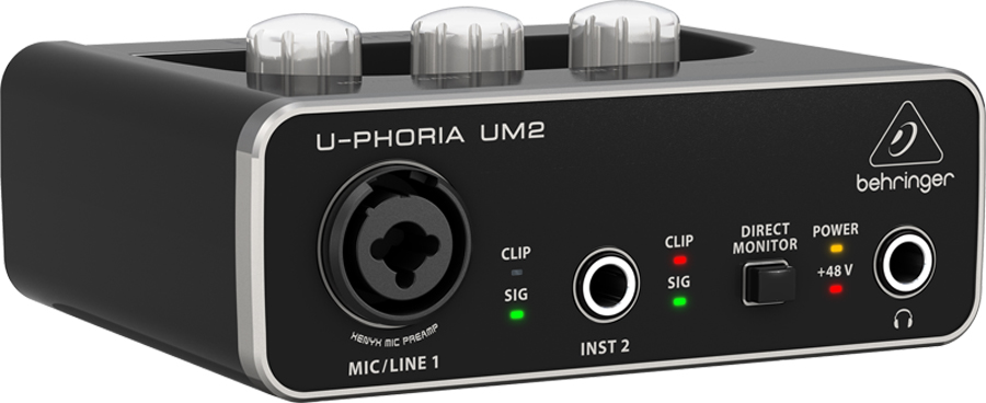 Behringer U-Phoria UM2 Interface de Audio, Usb