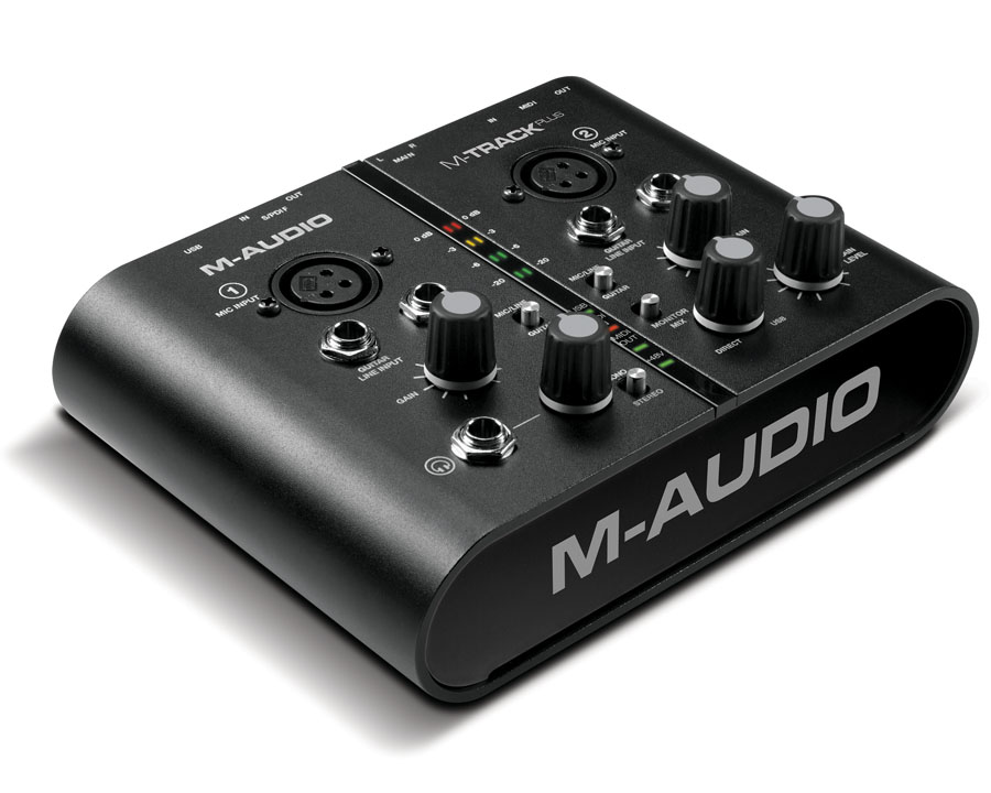 M-Audio M-Track Plus Interface de Áudio, Usb