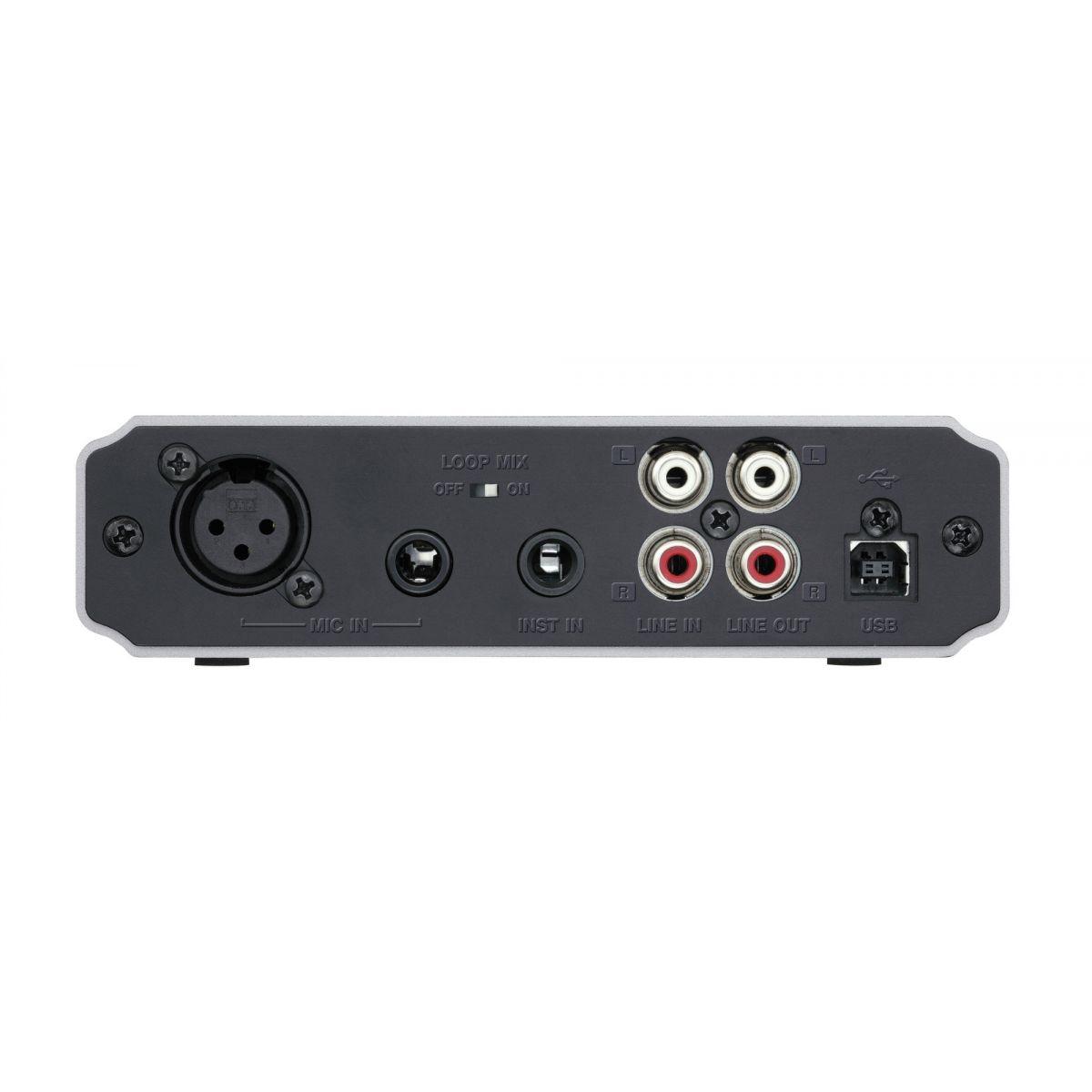 Tascam US-125M Interface de Audio, Usb