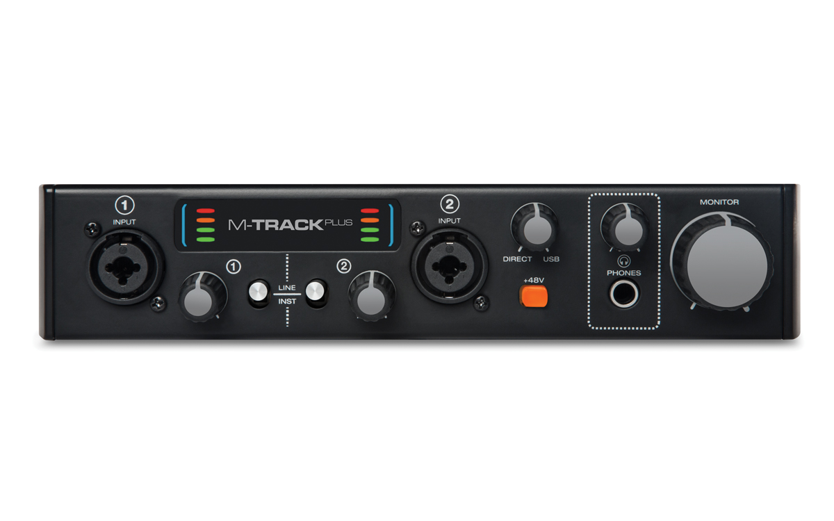 M-Audio M-Track Mk2 Plus Interface de Áuido, Usb
