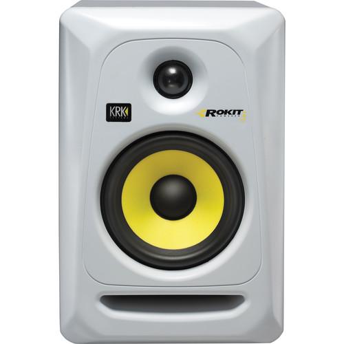 KRK Rokit 5 G3 RP5 Monitor de Audio Referencia para Studio, Branco, 110v, Unidade