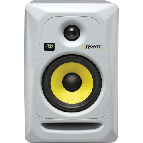 KRK Rokit 5 G3 RP5 Monitor de Audio Referencia para Studio, Branco, 220v, Unidade
