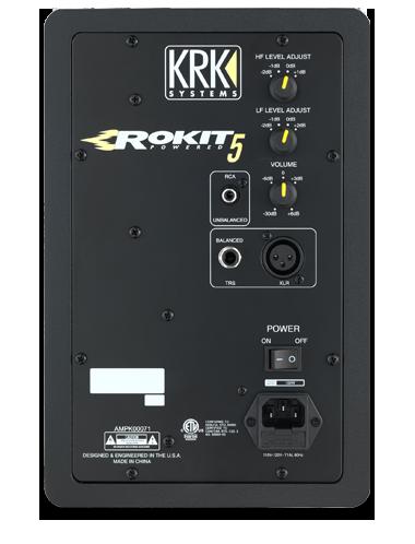 KRK Rokit 5 G3 RP5 Monitor de Audio Referencia para Estudio, Preto, 110v, Par