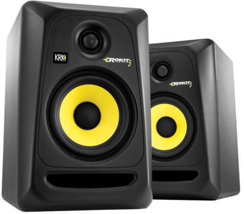 KRK Rokit 5 G3 RP5 Monitor de Audio Referencia para Studio, Preto, 220v, Par