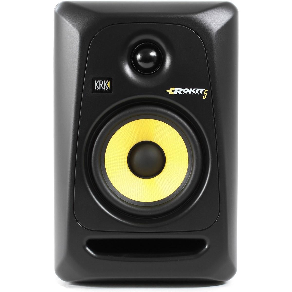Krk RP5 G3 Rokit Powered Monitor de Audio Referencia para Estudio, Preto, 220v, Unidade