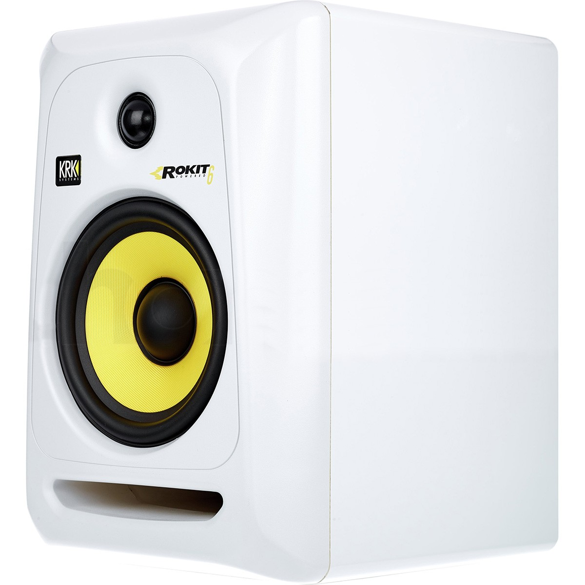 Krk RP6 G3 Rokit Powered Monitor de Audio Referencia para Estudio, Branco, 110v, Par