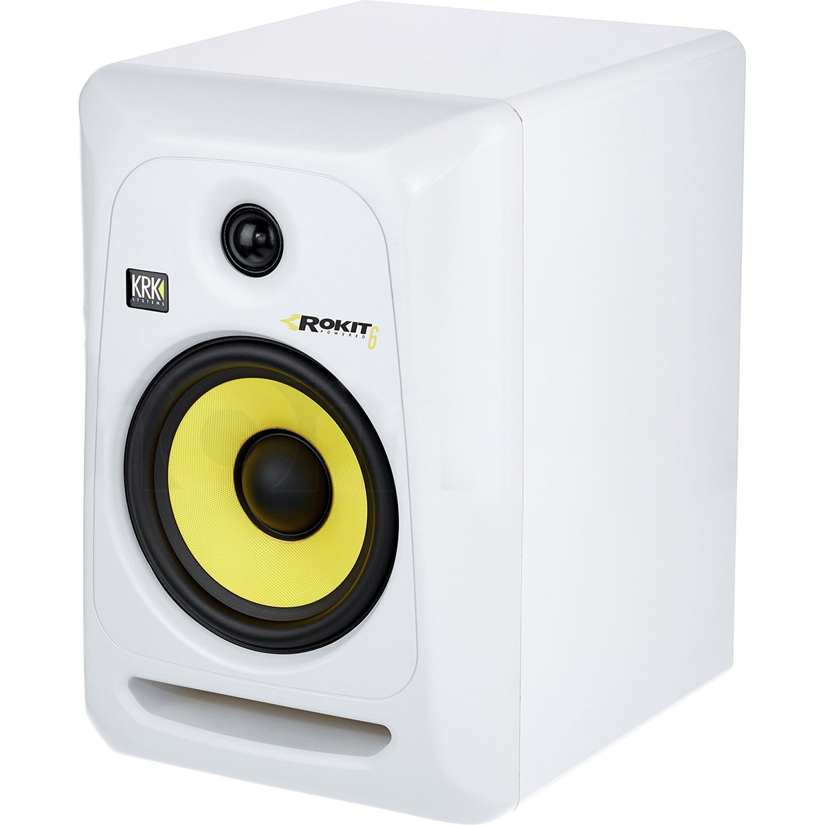 Krk RP6 G3 Rokit Powered Monitor de Áudio Referencia para Estudio, Branco, 110v, Unidade