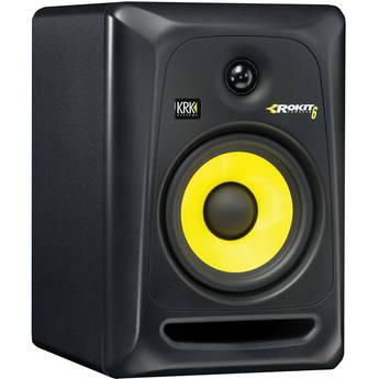 KRK Rokit 6 G3 RP6 Monitor de Audio para Studio, Preto, 220v, Unidade