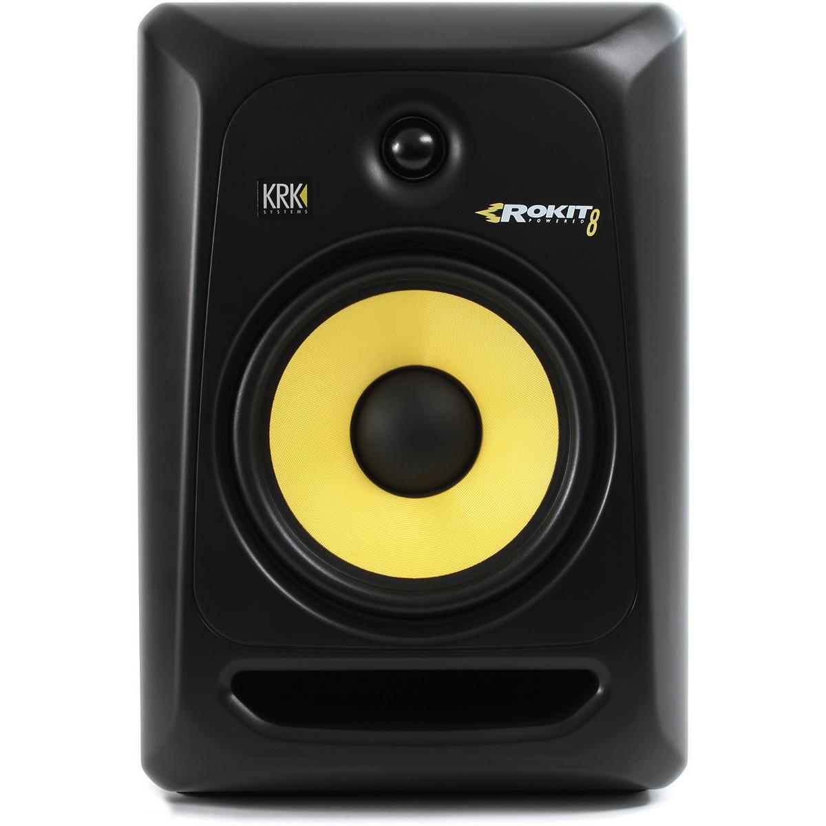 KRK Rokit 8 G3 RP8 Monitor de Áudio, Preto, 110v, Unidade