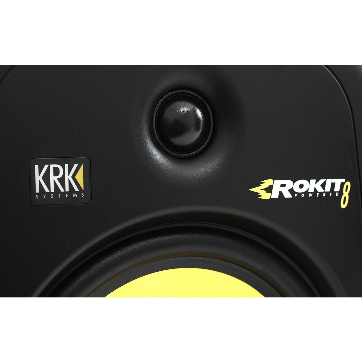 Krk RP8 G3 Rokit Powered Monitor de Áudio Referencia para Estudio, Preto, 220v, Unidade